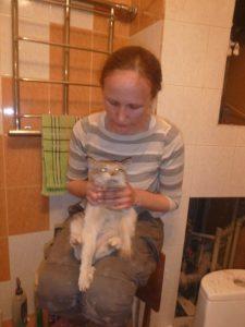 Спасение кота из вентиляционной трубы