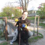 Спасение пса из пересыхающего водоема